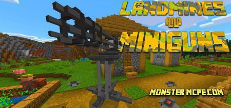 Rocket Lanchers, Landmines and Miniguns! Add-on 1.14+