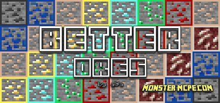 Better Ores Texture Pack