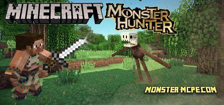 Monster Hunter (Bedrock) Addon 1.15+