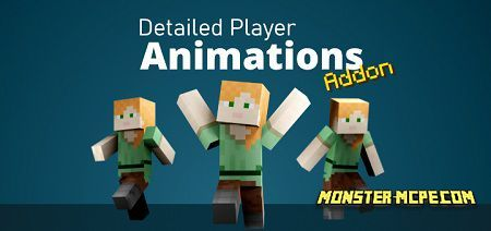 Detailed Player Animations Add-on 1.16/1.15+