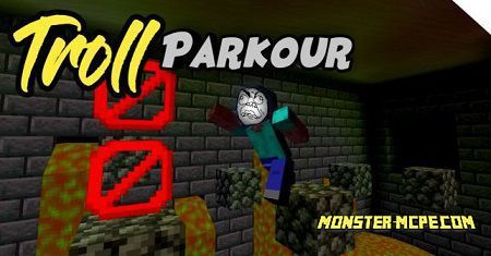 Troll Parkour Map