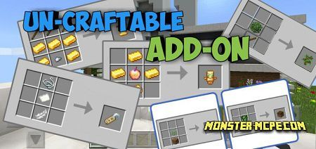 Un-Craftable Add-on 1.15/1.14+