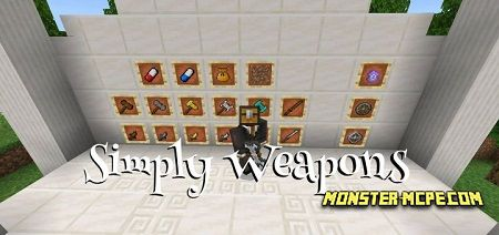 Simply Weapons Add-on 1.15/1.14+