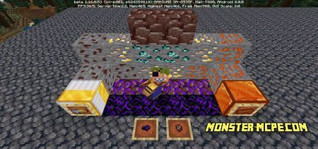 Overworld Netherite V2 Add-on 1.16+