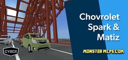 Chevrolet Spark M300 / GM Daewoo Matiz M300 Addon 1.16/1.15+