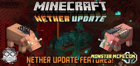 Nether Features Add-on 1.16+