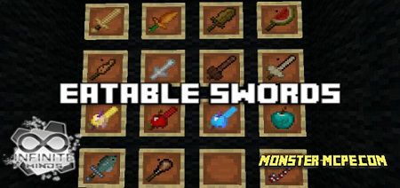Eatable Swords Add-on 1.16+