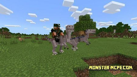 Pterodactyl and Velociraptor Add-on 1.15/1.14+