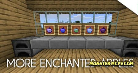 More Enchanted Apples Add-on 1.16/1.15+
