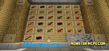 Weapons+ Addon 1.15/1.14+