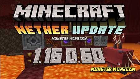 Minecraft PE 1.16.0.60 for Android