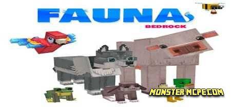 Fauna Bedrock Addon 1.15/1.14+