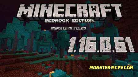 Minecraft 1.16.0.61 for Android