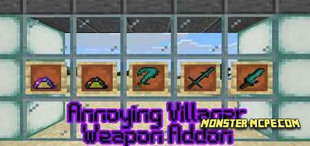 Annoying Villagers Weapons Add-on 1.16/1.15+