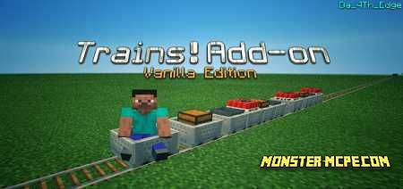 Trains! Addon 1.15/1.14+