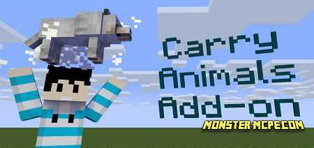 Carry Animals Add-on 1.15/1.14+