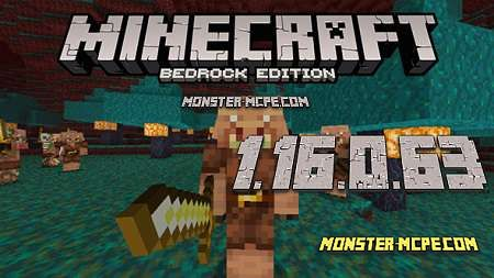Minecraft PE 1.16.0.63 for Android