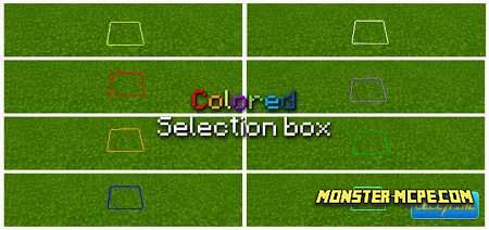 Colored Selection Box Texture Pack