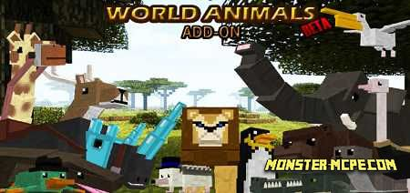 World Animals Add-on 1.16/1.15+