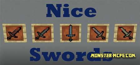 Nice Swords Add-on 1.16/1.15+