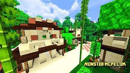 Village Badlands & Jungle Map