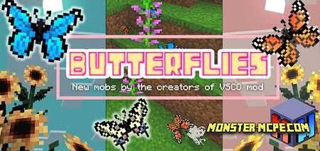 Butterflies Add-on 1.16/1.15+