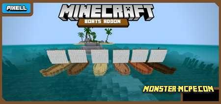 Boats Addon! 2.0 1.15/1.14+