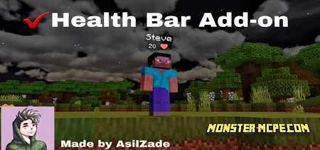 Health Bar Add-on 1.16/1.15+