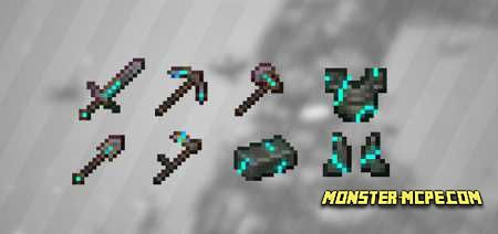 Cracked Netherite Diamond Edition Texture Pack