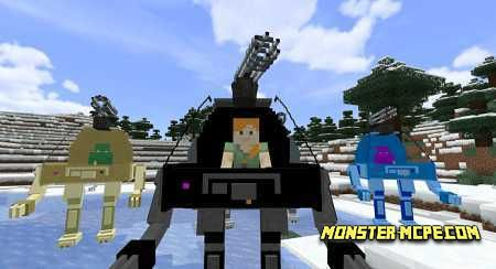Mechs and Jetpacks Add-on 1.16/1.15+