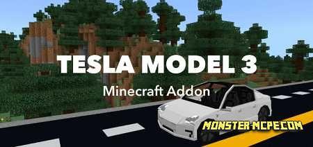 Tesla Model 3 Add-on 1.16/1.15+