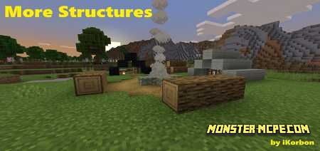 More Simple Structures v1.2 Add-on 1.16/1.15+