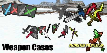 Weapon Cases Add-on 1.16/1.15+