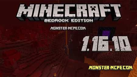 Minecraft PE 1.16.10 for Android