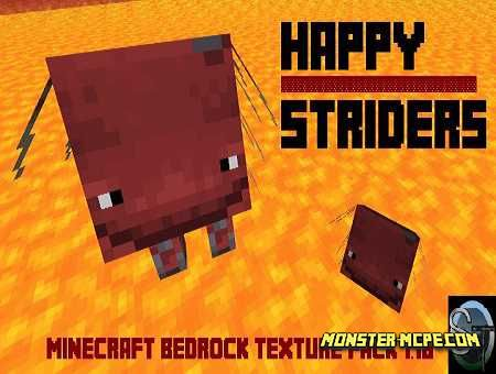 Happy Striders Texture Pack