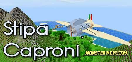 Stipa Caproni, an Italian Experimental Aircraft Add-on