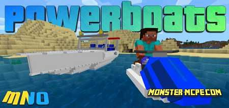 Powerboats Add-on 1.16/1.15+
