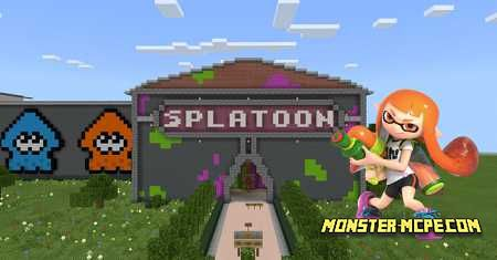 Splatoon Battle Map