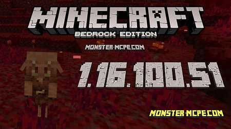 Minecraft PE 1.16.100.51 for Android