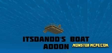ItsDandD's Boat Add-on 1.16/1.15+