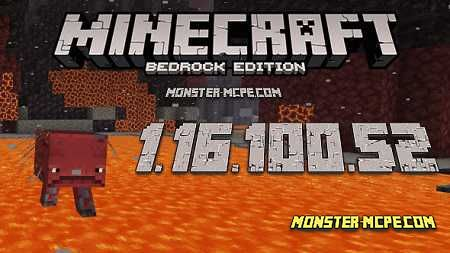 Minecraft PE 1.16.100.52 for Android