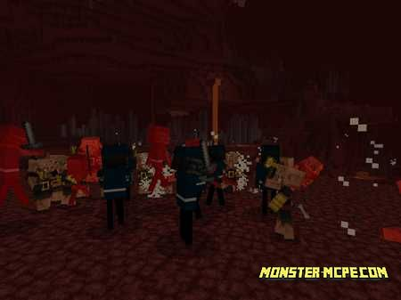 Wither Skeleton Knight Add-on 1.16/1.15+