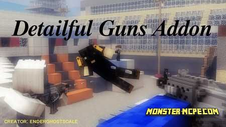 Detailful Guns Add-on 1.16/1.15+