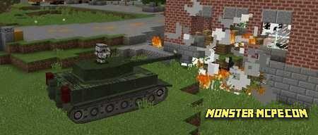 Tanks Mod for Minecraft PE