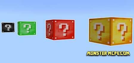 Lucky Blocks Add-on 1.16/1.15+