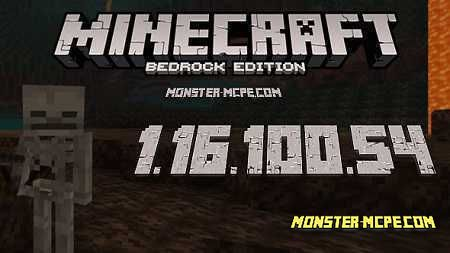 Minecraft PE 1.16.100.54 for Android
