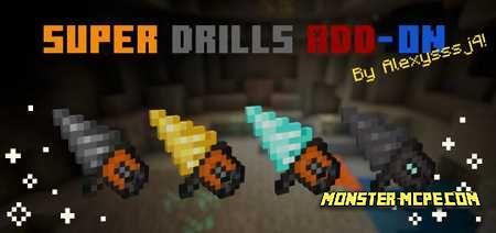 Super Drills Add-on 1.16/1.15+