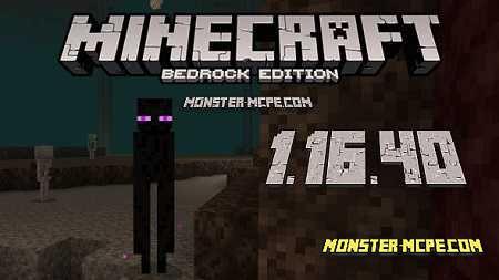 minecraft 1.16.40 apk