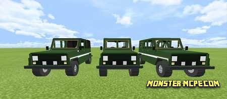 PUBG Vehicles Add-on (4)