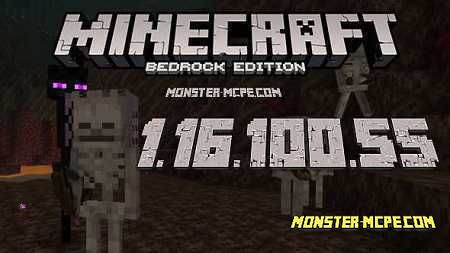 Minecraft PE 1.16.100.55 for Android